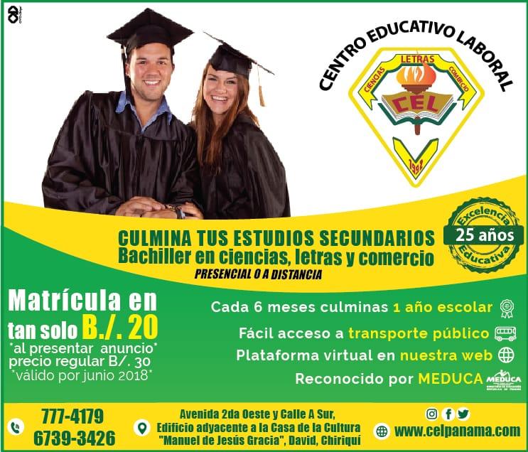 Admision Escolar: Centro Educativo Laboral